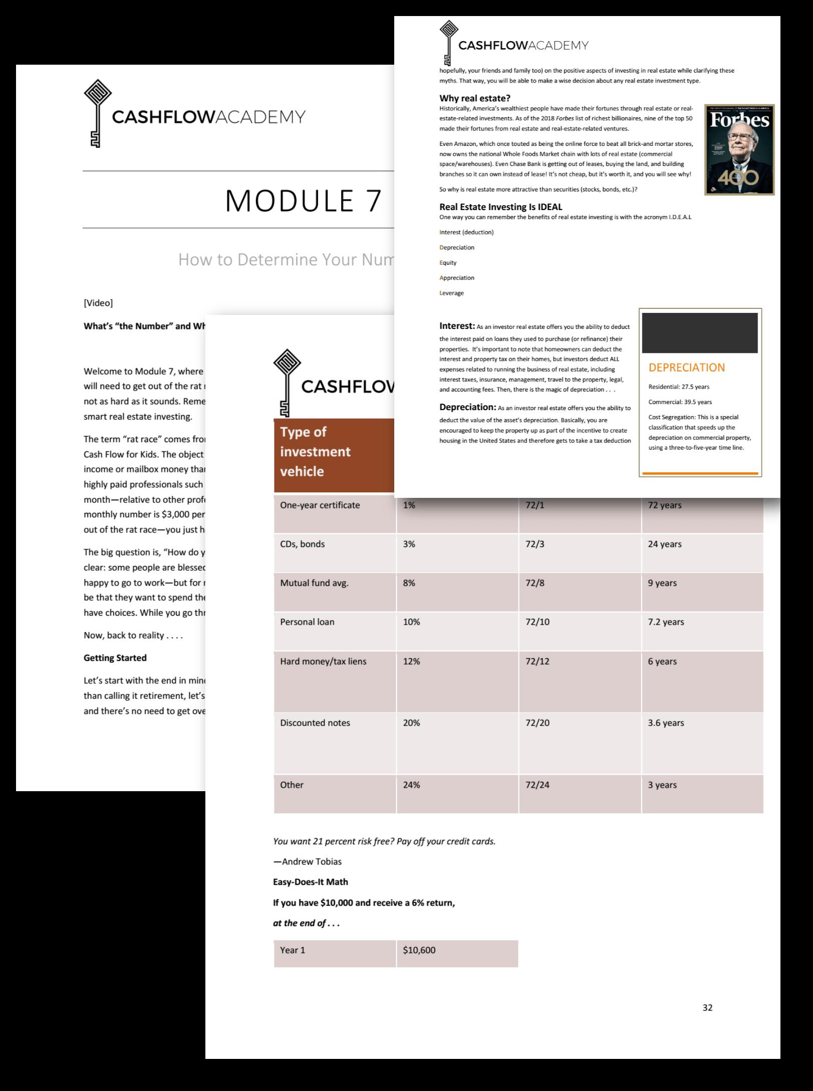 Cash Flow Academy Module