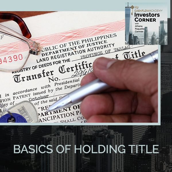 Basics Of Holding Title
